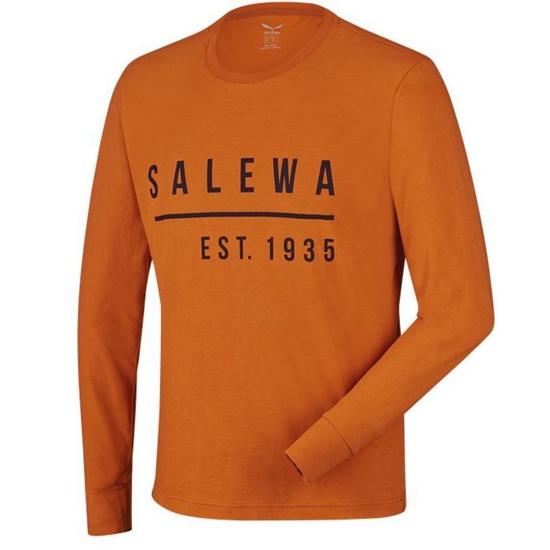 Triko Salewa BINNE CO M L/S TEE 26018-4840