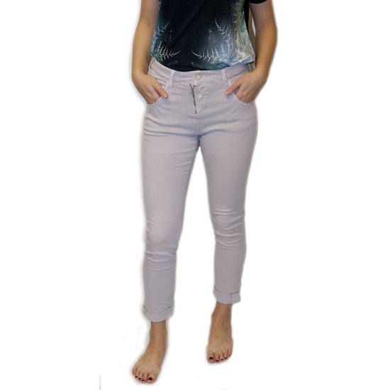 Kalhoty Mavi Mira Lilac twill