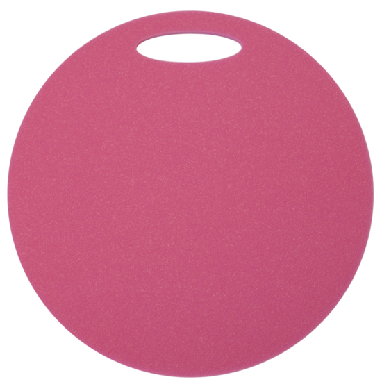 Sedátko Yate kulaté 1 vrstvé průměr 350 mm růžové