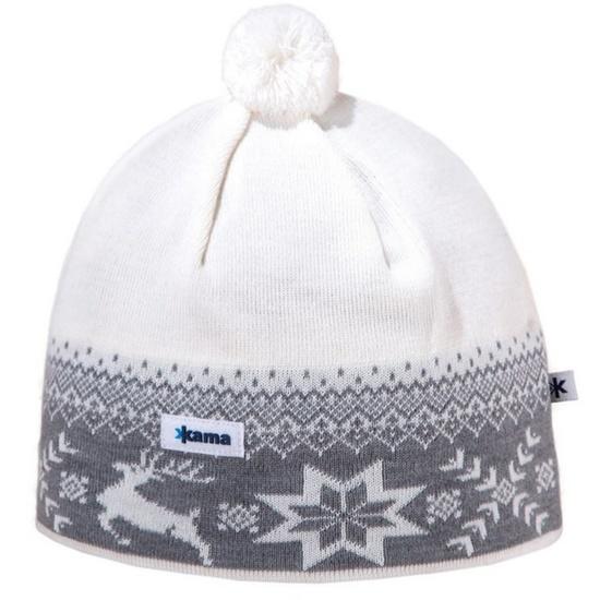 Čepice Kama AW01 101 přírodně bílá