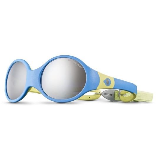 Sluneční brýle Julbo LOOP L SP4 BABY blue cyan/yellow green