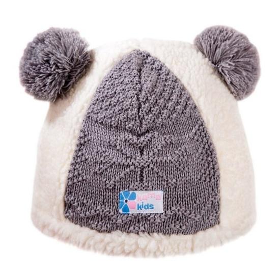 Dětská fleecová čepice Kama B67 101 přírodně bílá