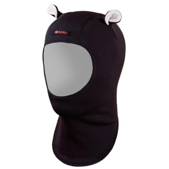 Dětská fleecová kukla Kama DB20 110 černá XS