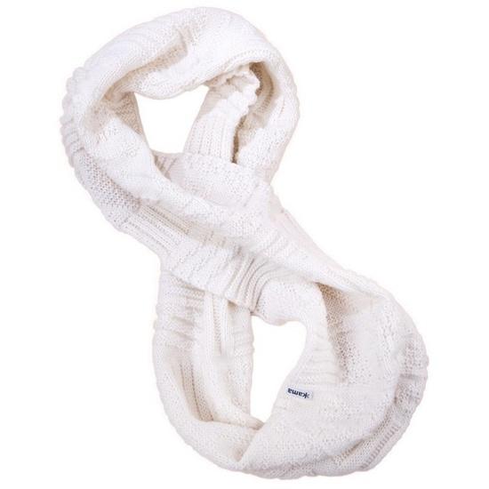 Pletený nákrčník Kama S20 101 přírodně bílá