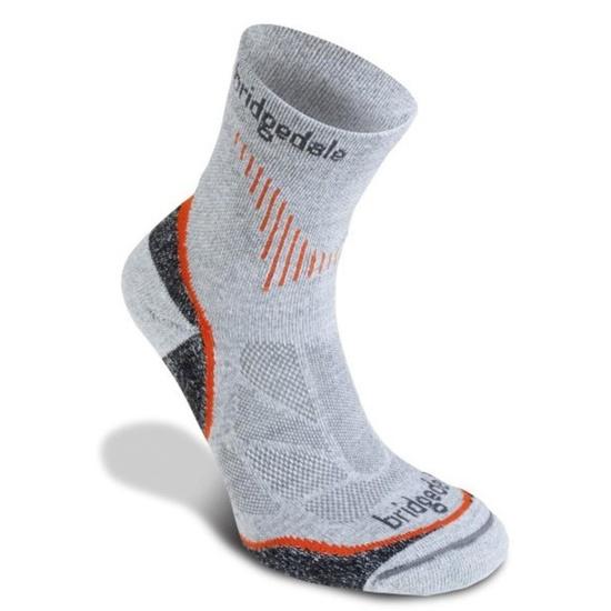 Ponožky Bridgedale CoolFusion Run Qw-ik grey/801