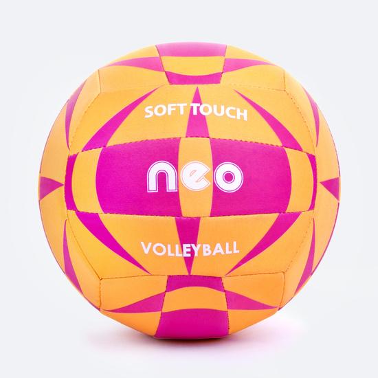 Volejbalový míč Spokey NEO SOFT žluto-růžový
