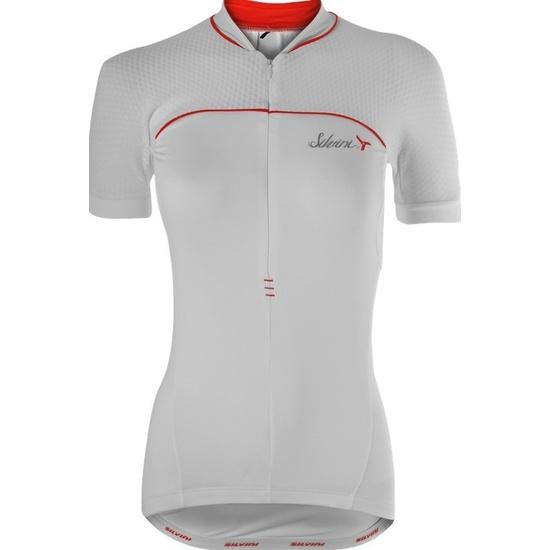 Dámský cyklistický dres Silvini CATIRINA WD1002 white-red
