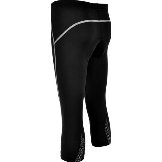 Dětské 3/4 cyklistické kalhoty Silvini BASENTO CP790 black