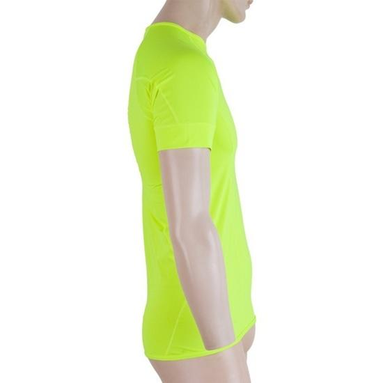 Pánské triko Sensor Coolmax Fresh žlutá reflex 17100004