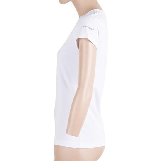 Dámské triko Sensor COOLMAX FRESH PT ŠÍPY bílé 17100035