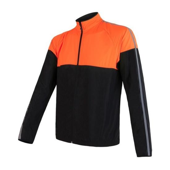 Pánská bunda Sensor NEON černá/oranžová reflex 17100114