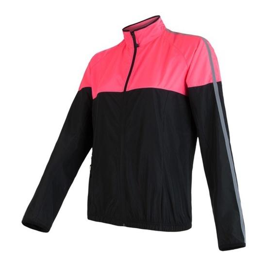 Dámská bunda Sensor NEON černá/růžová reflex 17100116