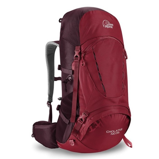 Batoh Lowe Alpine Cholatse ND 35 rio red/RR