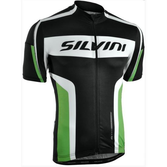 Pánský cyklistický dres Silvini LEMME MD603 black-forest