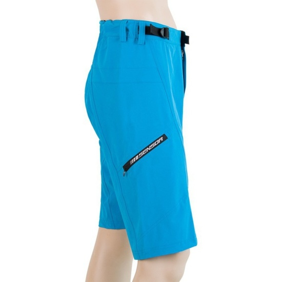 Pánské cyklo kalhoty Sensor Helium modrá/černá 17100081