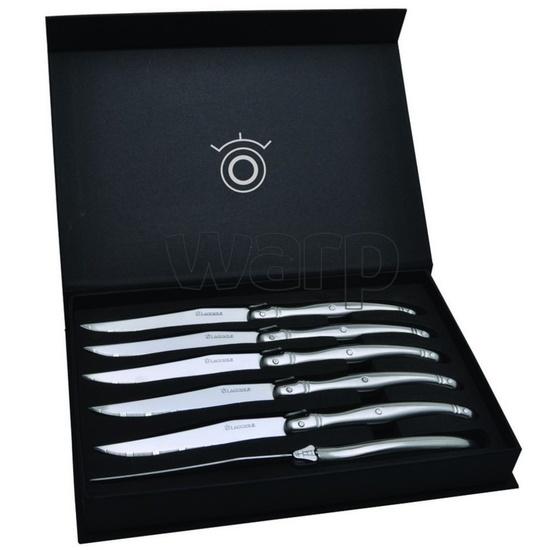 Laquiole sada 6-ti steakových nožů v dárkové kazetě DUB122