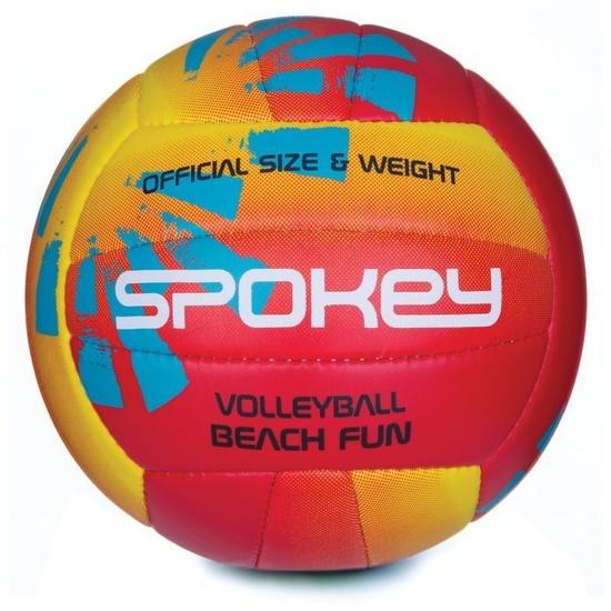 Volejbalový míč Spokey BEACH FUN červeno-žlutý č.5