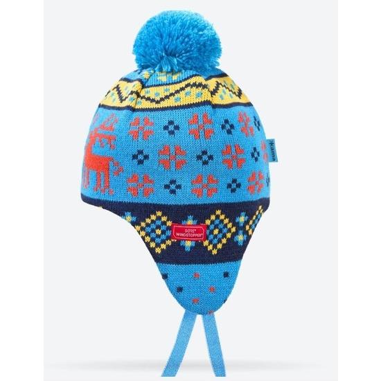 Dětská pletená čepice Kama BW19 115