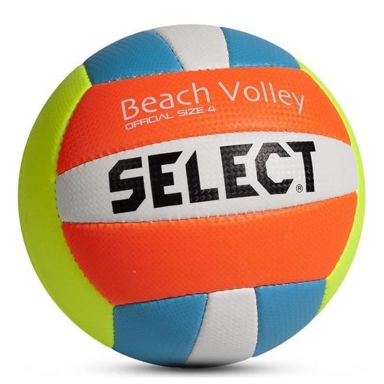 Volejbalový míč Select VB Beach Volley žluto modrá