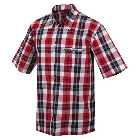 Košile HANNAH Wariant II red rubik