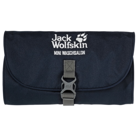 Taštička JACK WOLFSKIN Mini Waschsalon tm. modrá