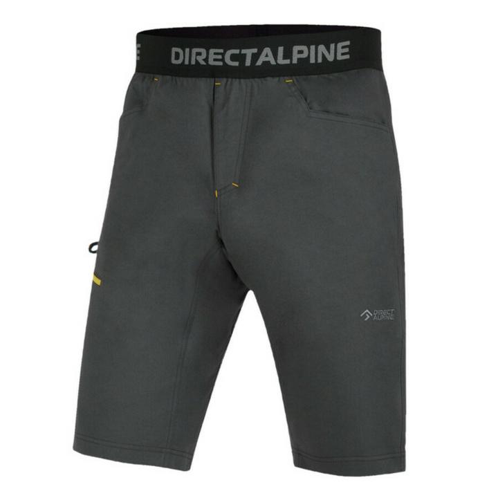 Šortky Direct Alpine Solo anthracite/camel