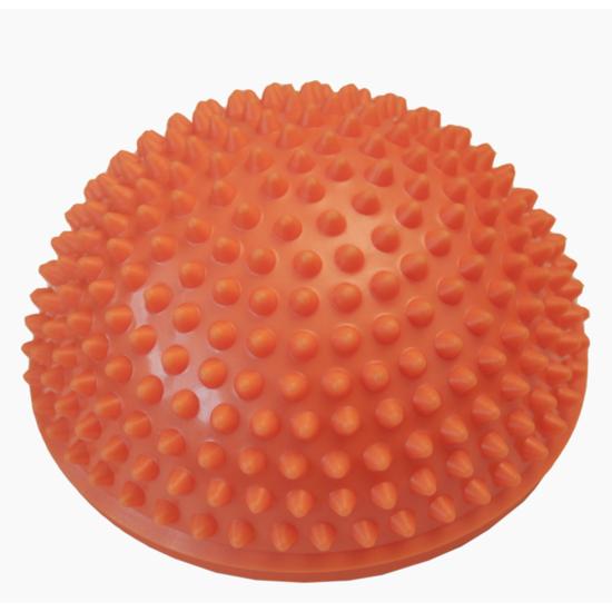 Masážní polokoule Yate 16 cm oranžová