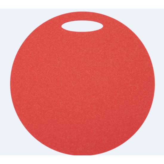 Sedátko Yate kulaté 1 vrstvé průměr 350 mm červené