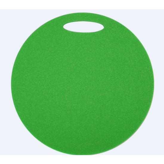 Sedátko Yate kulaté 1 vrstvé průměr 350 mm sv. zelené