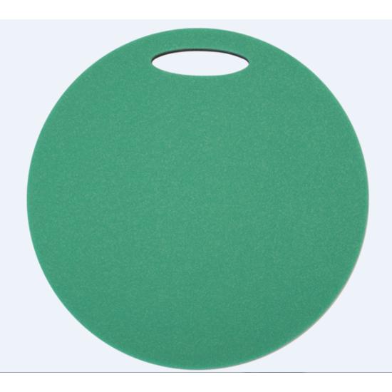 Sedátko Yate kulaté 2 vrstvé průměr 350 mm zelená/černá