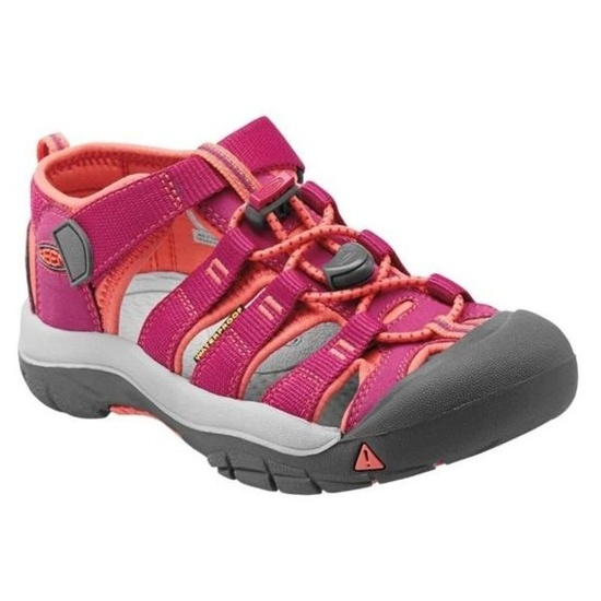 Sandály Keen NEWPORT H2 JR, very berry/fusion coral