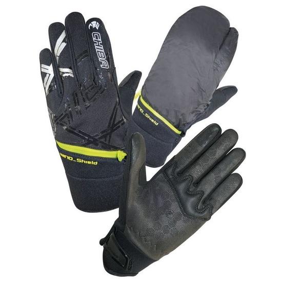Zimní rukavice Chiba Overflap, černá