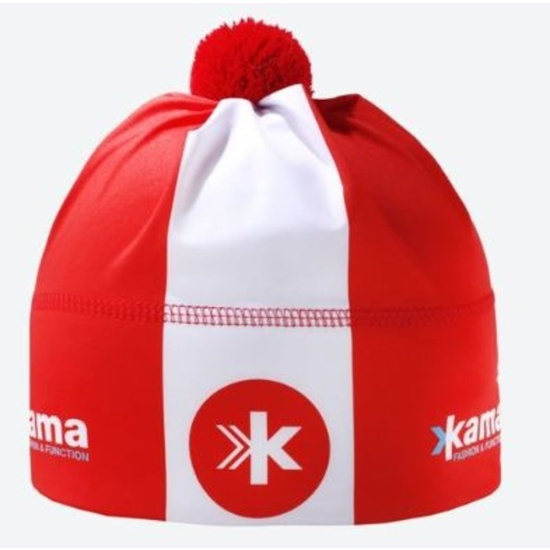 Běžecká čepice Kama AW05 104 červená
