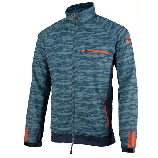 Pánská běžecká bunda Rogelli Broadway, 830.841. modrá-červená