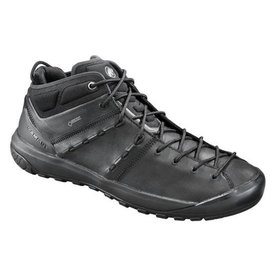 Boty MAMMUT Hueco Advanced Mid GTX® Men, black-black 0052