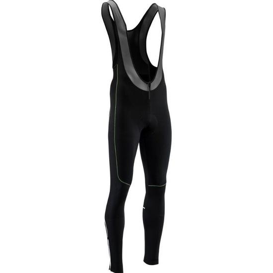 Pánské elastické zimní kalhoty Silvini RUBENZA MP1321 black green