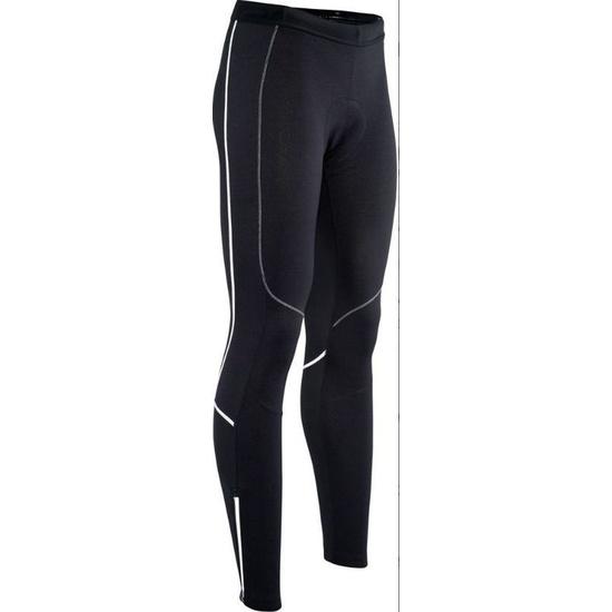 Pánské elastické zateplené kalhoty Silvini RUBENZA MP1319 black white