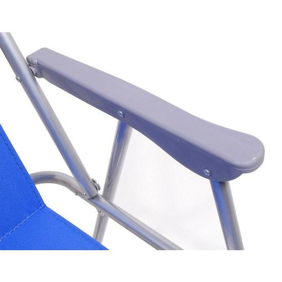 Židle kempingová skládací Cattara BERN modrá