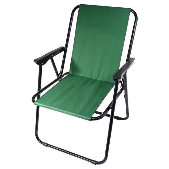 Židle kempingová skládací Cattara BERN zelená