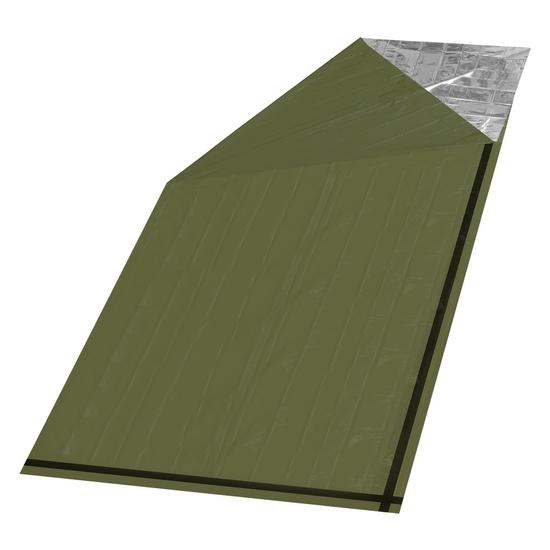 Izotermická fólie Cattara SOS zelená válec 200x92cm