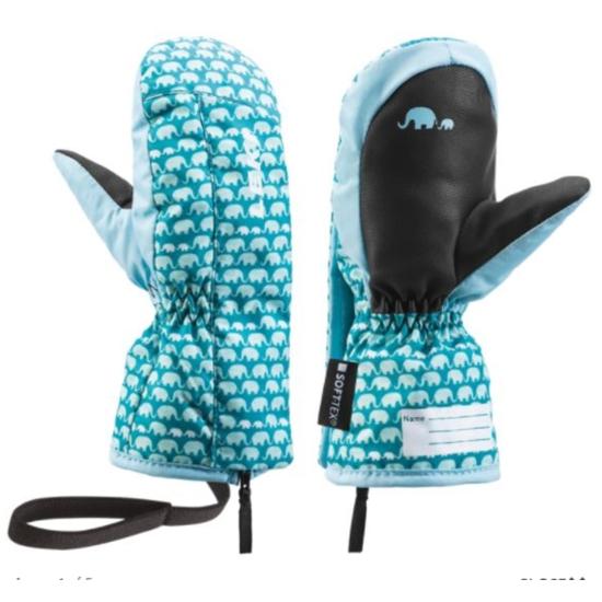 Dětské rukavice LEKI Little Elephant Zap Mitt 640889402