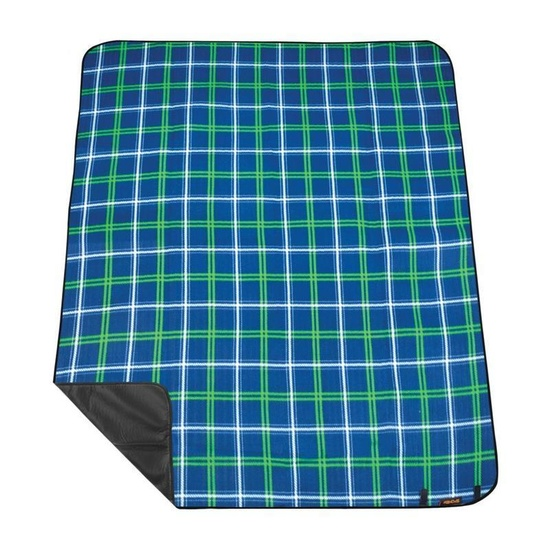 Pikniková deka s popruhem Spokey PICNIC TARTANA, modrá