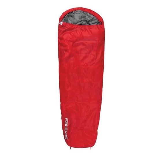 Spací pytel mumie Spokey GLOBTROTTER  červený