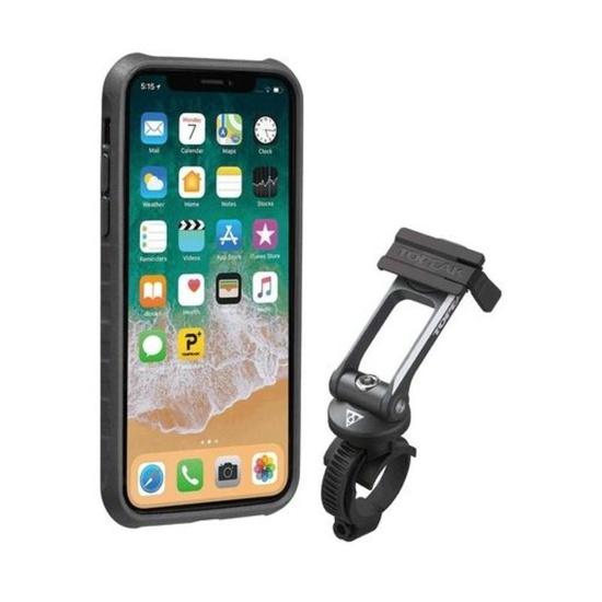 Obal Topeak RideCase pro iPhone X černá/šedá TT9855BG