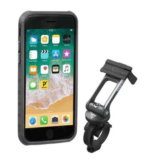 Obal TOPEAK RideCase pro iPhone 6, 6s, 7, 8 černá TT9856BG