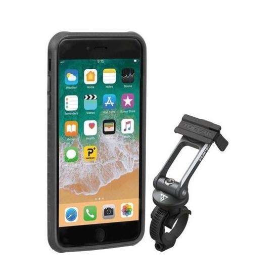 Obal Topeak RIDECASE pro iPhone 6 Plus, 6s Plus, 7 Plus, 8 Plus černá/šedá 2019