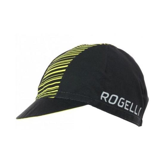 Sportovní kšiltovka Rogelli RITMO, černo-reflexní žlutá 009.949.