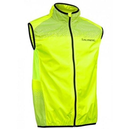 Pánská běžecká vesta Salming Skyline Vest Men Safety Yellow