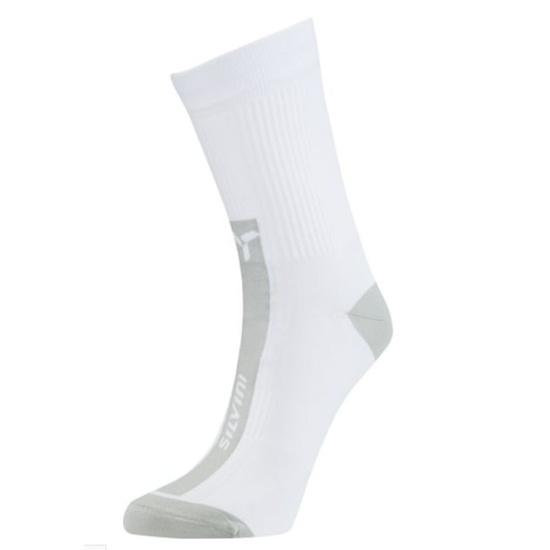 Cyklistické ponožky Silvini Allaro UA1233 white