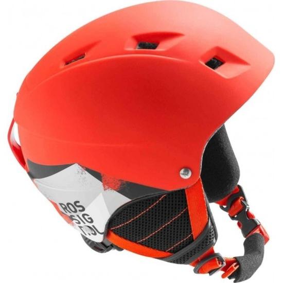 Lyžařská helma Rossignol Comp J red-led RKFH504